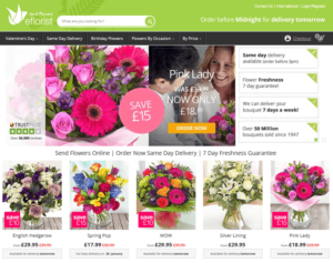 asda flowers by post