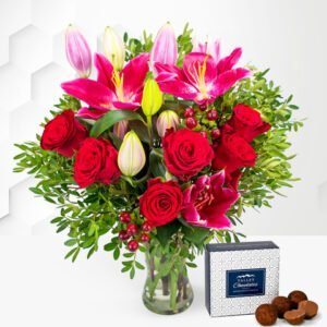 Be Mine - Valentine's Flowers - Valentine's Day Flowers - Valentine's Flower Delivery - Valentine's Bouquets - Red Roses